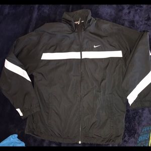 Nike Men's Black Windbreaker